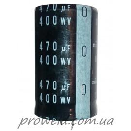 Конденсатор электролитический 470uF 400V 105°C (30x50)