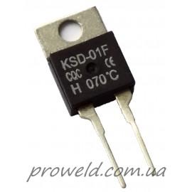 Термостат 70°С KSD-01F (нормально разомкнутый)