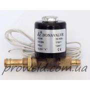 Клапан отсечения газа BONAVALVE (24 VDC)