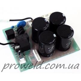 Плата №3 для сварочного инвертора типа MOS (реле плавного заряда, сетевой фильтр)